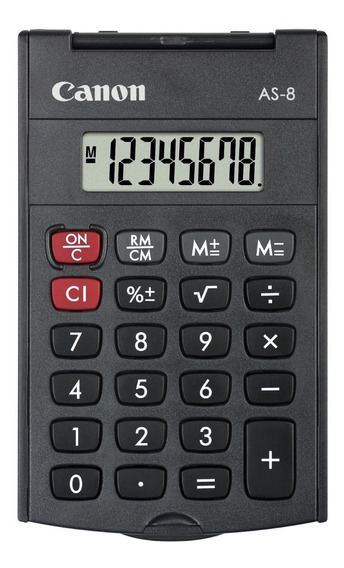 Calculadora Básica Canon As-8