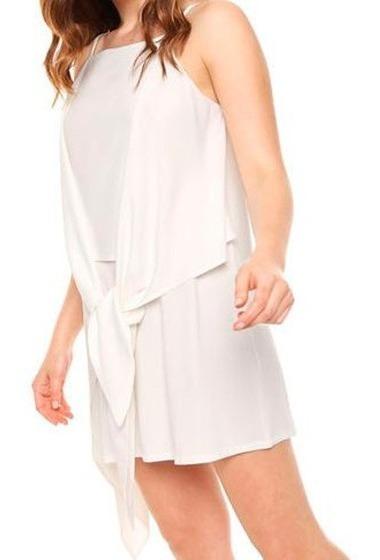 Vestido Asimetrico Corto Mujer Prussia - Blanche 7506