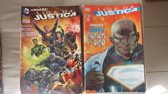 Coleção Liga Da Justiça Os Novos 52 + Ed. Especial