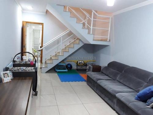 Sobrado Com 2 Dormitórios À Venda, 105 M² Por R$ 750.000,00 - Belenzinho - São Paulo/sp - So1278