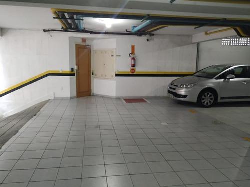 Imagem 1 de 9 de Garagem Em Condomínio No Centro Da Cidade - Gr0004
