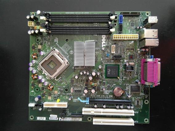 Placa Mãe 775 Dell Optiplex Gx-755 Com Processador