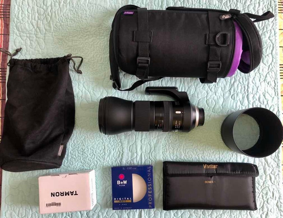 Lente Tamron 150-600mm F/5-6.3 Di Vc G2 (para Nikon)