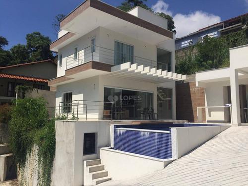 Imagem 1 de 23 de Casa Com 4 Quartos Por R$ 850.000 - Sape /rj - Ca21246
