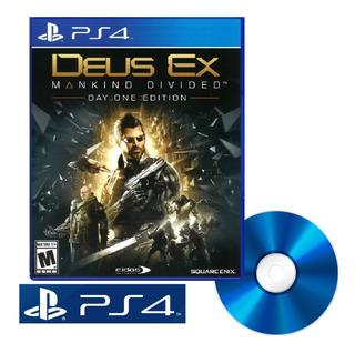 Deus Ex Mankind Divided Juego Disco Nuevo Fisico Sellado Ps4