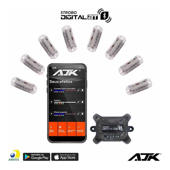 Strobo Digital Bluetooth Ajk