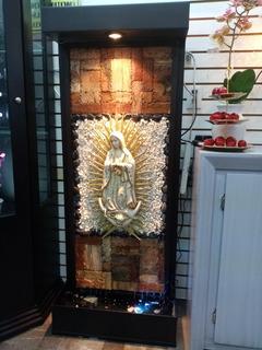 Fuente De Herrería Horneada Virgen De Guadalupe