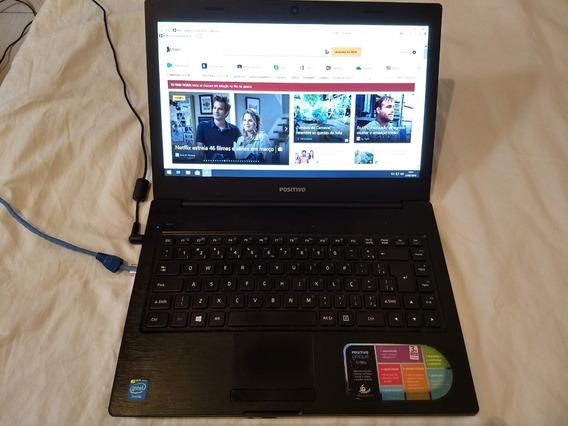 Notebook Positivo Unique S199i Funcionando Só Com Fonte