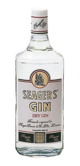 Gin Garrafa 980ml - Seagers