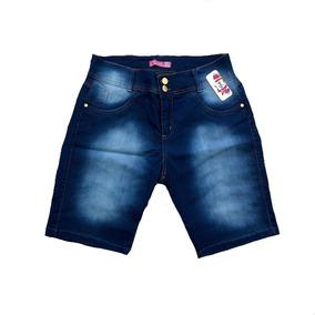 Short Jeans Feminino Plus Size 44/58 Gordinha