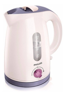 Pava Electrica Philips Hd4691/40 Corte Automatic 1.2l Blanca