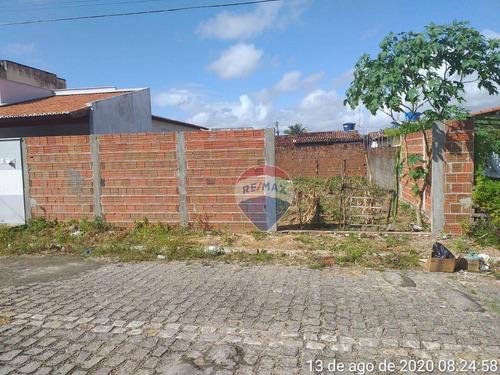 Terreno À Venda, 200 M² Por R$ 70.000,00 - Vida Nova - Parnamirim/rn - Te0087