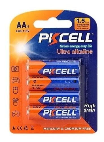 Bateria Pkcell Aa 2 Blister De 4 Unidades