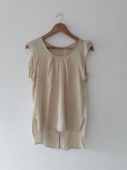 Remera De Vestir Mujer Seda