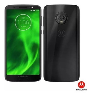 Celular Moto G6 Preto Motorola 4g 32gb Xt1925-3 Novo Lacrado Sem Usso Novo