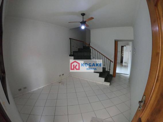 Sobrado Com 2 Dormitórios Para Alugar, 70 M² Por R$ 900,00/mês - Parque Dos Ipês - São José Dos Campos/sp - So0817