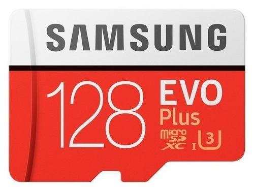 Cartão Samsung Micro Sd Sdxc Evo Plus 128gb 100mb/s U3 Origi