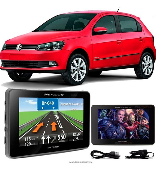 Gps Automotivo Vw Gol G6 Tela 4.3 Voz Tv Digital Fm Oferta