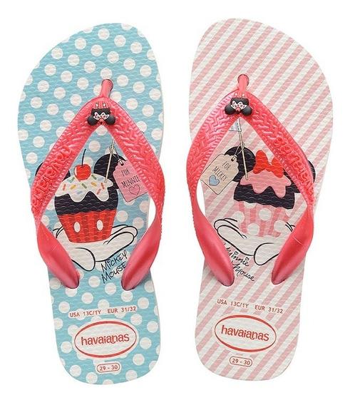 Zonazero Havaianas Ojotas Disney Candy Niñas