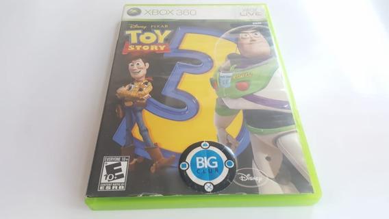 Jogo Toy Story 3 - Xbox 360 - Original - Mídia Física