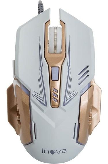 Mouse Óptico Gamer Com Fio