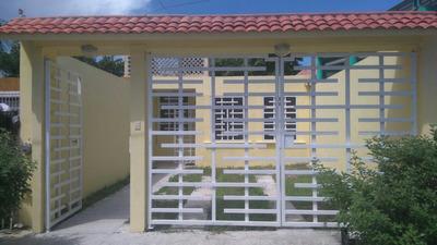 Casa En Renta Vacacional En Puerto Morelos