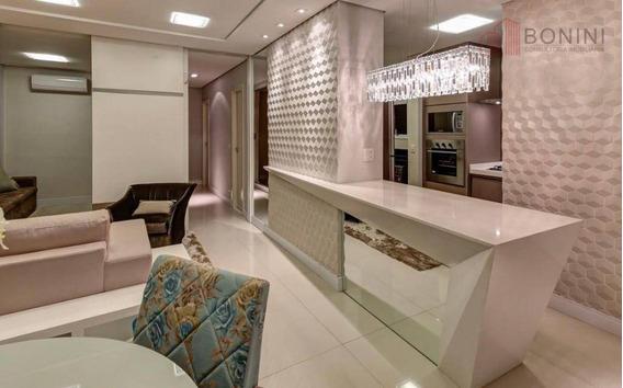 Apartamento Com 3 Dormitórios À Venda, 88 M² Por R$ 700.000,00 - Jardim Glória - Americana/sp - Ap0527