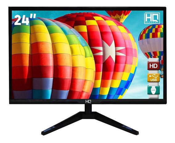 Monitor Full Hd 24hq-led Hdmi/vga 75hz