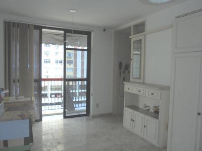 Laranjeiras, Flat Com Serviços, 68m², Mobiliado, Sala Com Va - 261