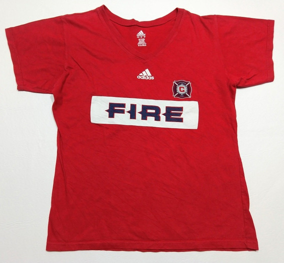 Remera adidas Chicago Fire Mls Talle L