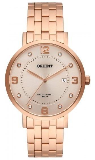 Relógio Orient Frss1042 R2rx Feminino Dour Rosê - Refinado