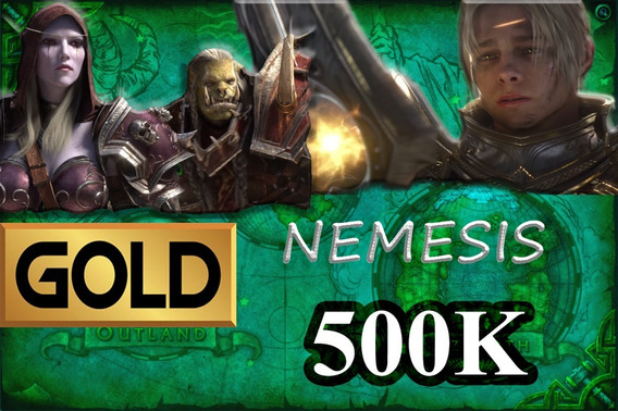 Gold Wow - 500k Nemesis