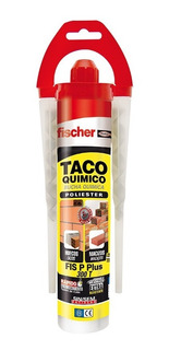 Cartucho Inyeccion Fischer Fis P 300 T Con 2 Boquillas 300ml
