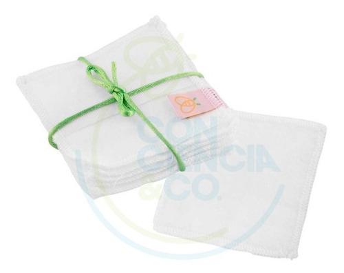 Pads Reutilizables Para Tónico Blanco Pureza - Kit X 6 Und