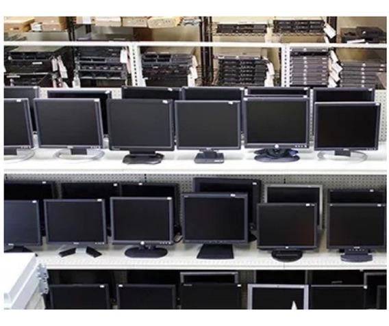 Monitor Lcd 18.5 Varias Marcas, Modelos, Semi-novo Testado