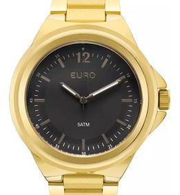 Relógio Euro Feminino Dourado - Eu2039jc/4p