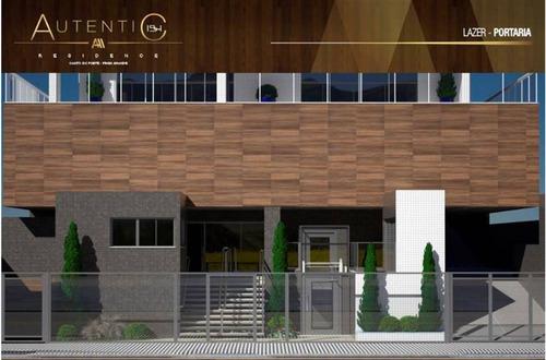 Imagem 1 de 30 de Apartamento, 1 Dorms Com 55.82 M² - Canto Do Forte - Praia Grande - Ref.: Gim6023446 - Gim6023446