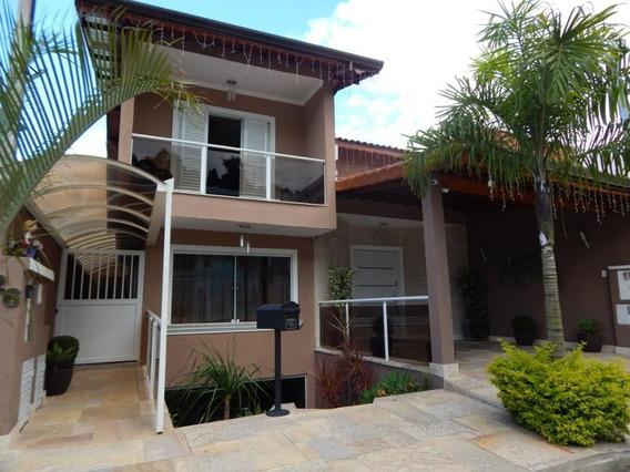 Belíssima Casa Repleta De Planejados Em Condomínio Com Excelente Localização! - Ca2813
