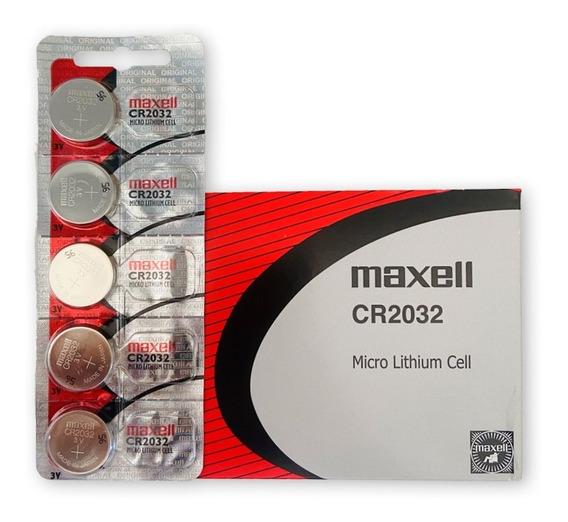 Bateria Maxell Cr 2032 Placa Mae Relógio Balança Eletronica