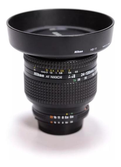 Lente Nikon 24-120 F 3,5 5,6 Ofertão