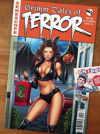 Comic - Grimm Fairy Tales Of Terror Halloween Edition