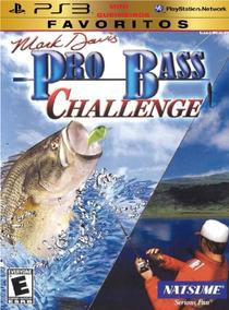 Ps3 Mark Davis Pro Bass Challenge Pescaria Vara Fishing