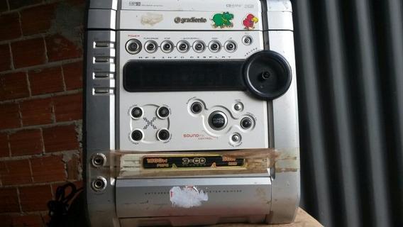 Micro System Gradiente As-m430 (com Defeito Pra Tirar Peças)