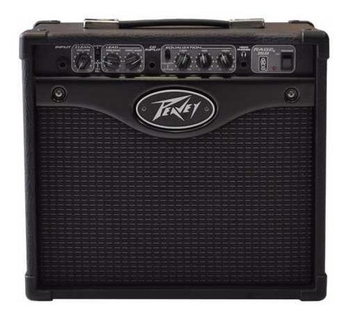 Amplificador Cubo Peavey Rage 158 Para Guitarra De 15w Black