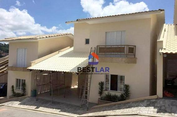 Casa Com 3 Dormitórios À Venda, 145 M² Por R$ 550.000,00 - Jardim Villaça - São Roque/sp - Ca0351
