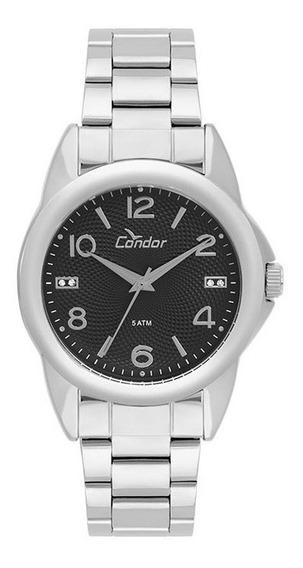 Relógio Condor Feminino Prateado Analógico Co2035kuf/3c