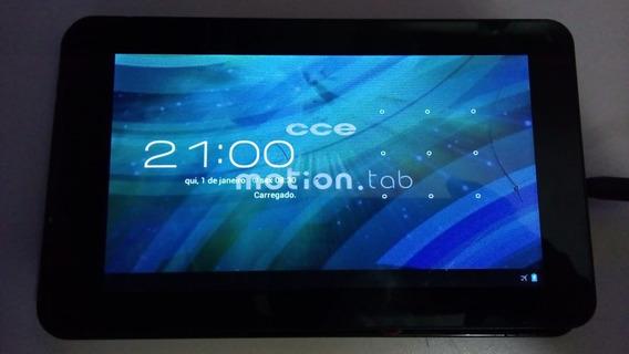 Tablet Cce Motion Tab Tr71 Ligando Touch Trincado Leranúncio