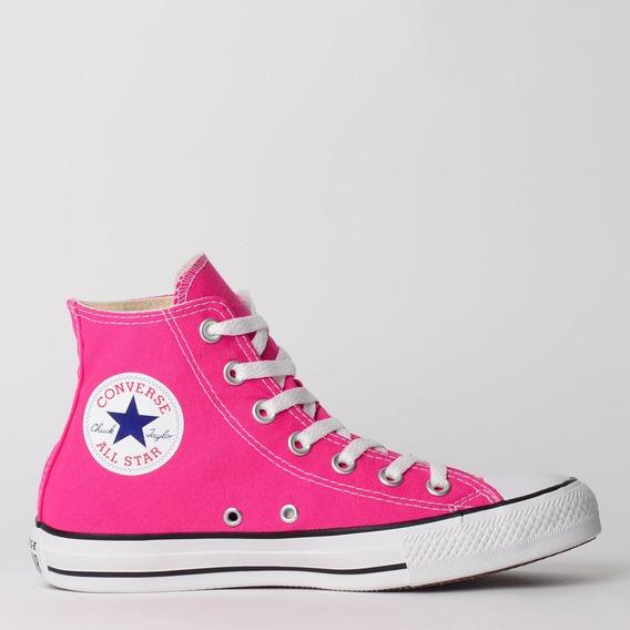 Tênis Converse All Star Bota Rosa Chiclete Frete Grátis