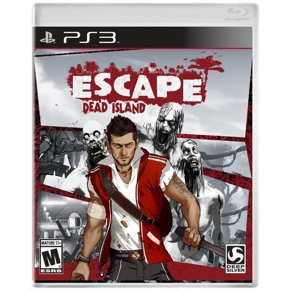 Escape Dead Island Ps3 Mídia Física Lacrada Original