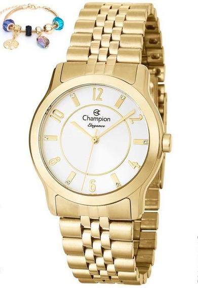 Relógio Champion Feminino + Pulseira Cn25074s - Nfe
